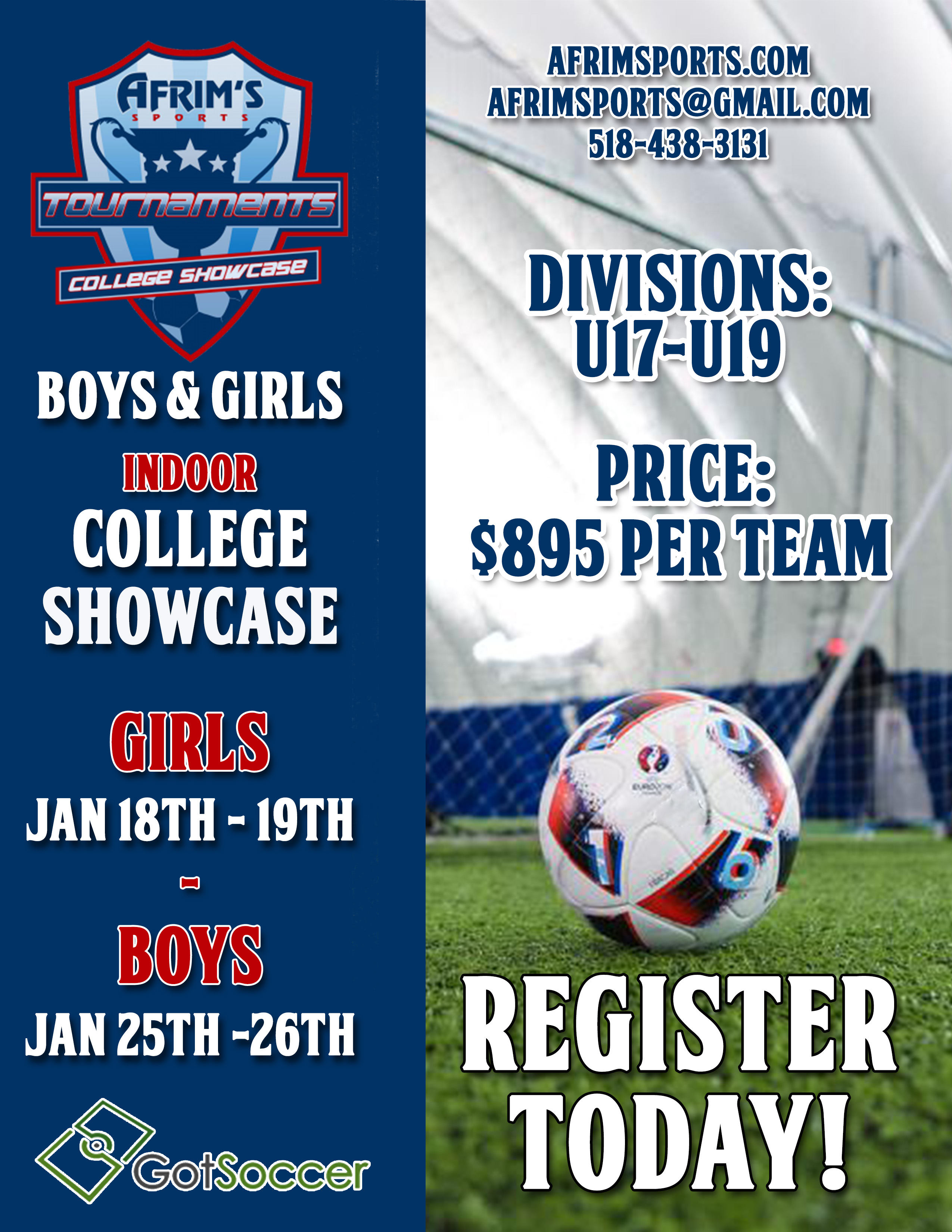 January College Showcase – Afrim's Sports